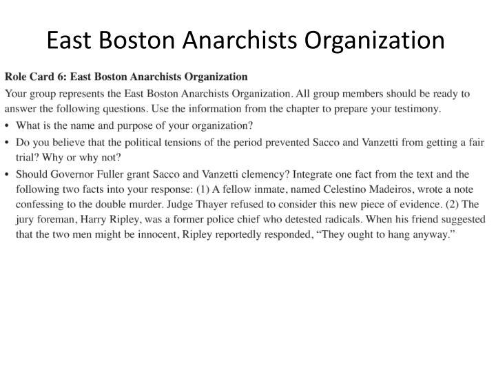 East Boston Anarchists Organization