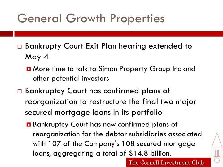 General Growth Properties