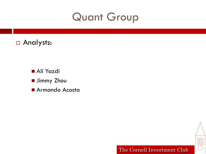 Quant Group