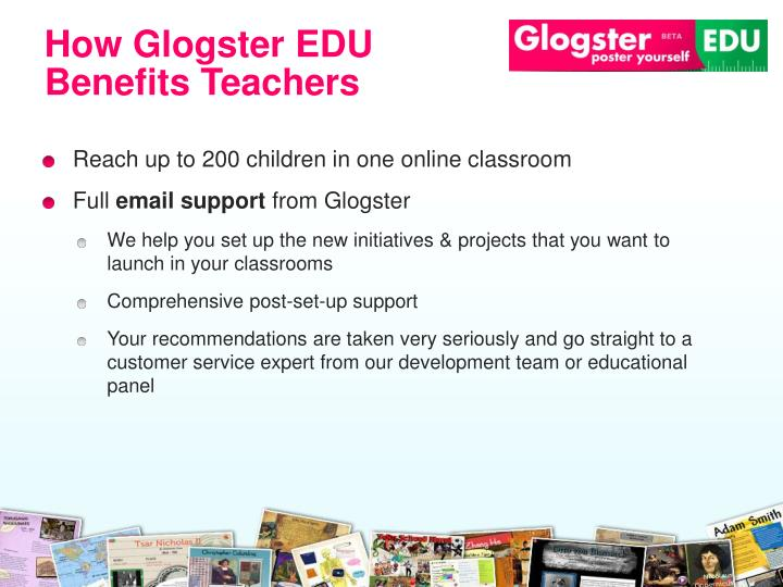 How Glogster EDU Benefits Teachers