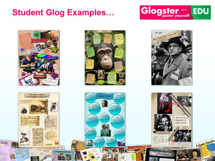 Student Glog Examples…