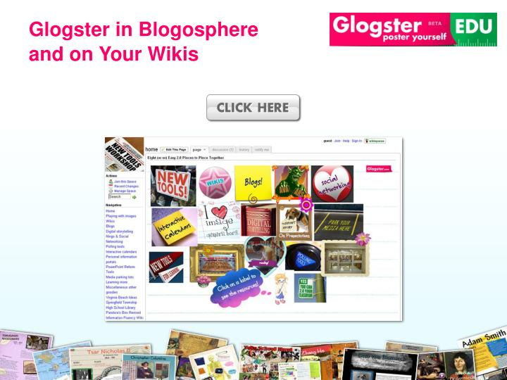 Glogster in Blogosphere