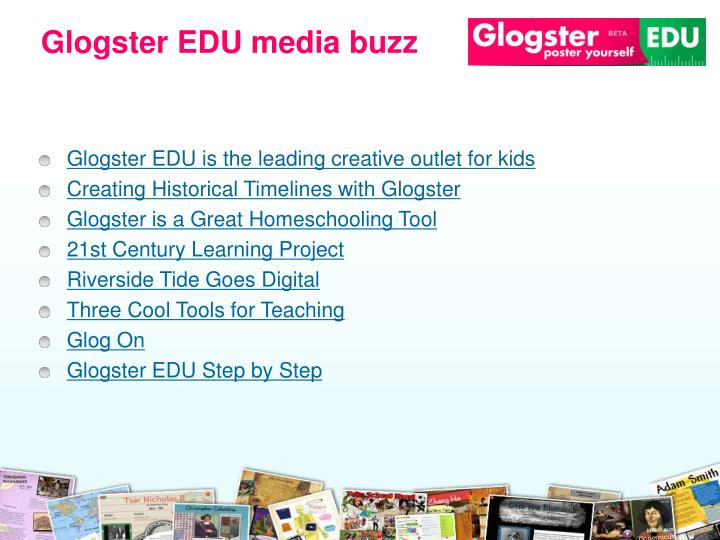 Glogster EDU media buzz
