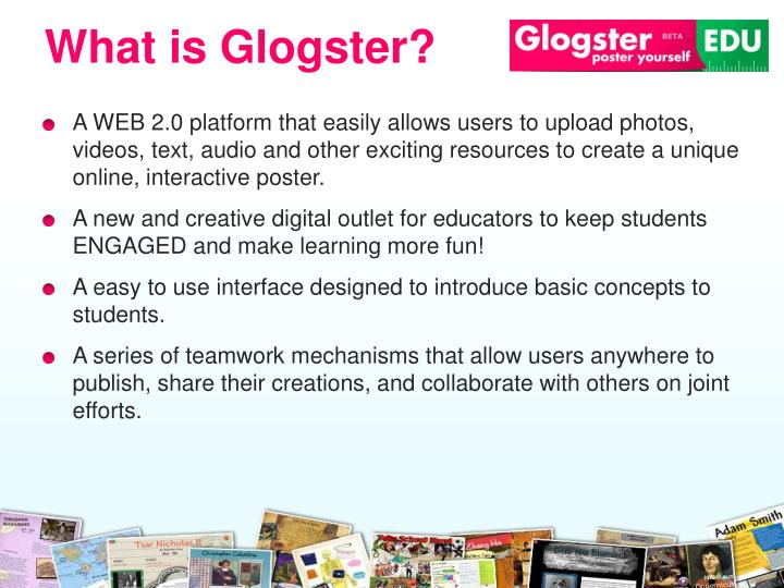 What is Glogster?