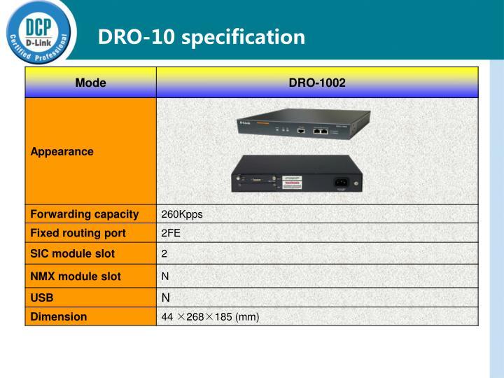 DRO-10
