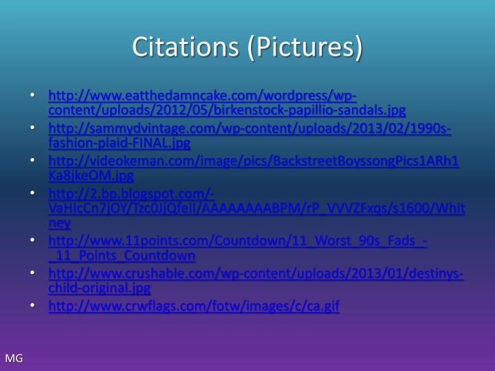 Citations (Pictures)