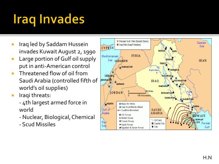 Iraq Invades