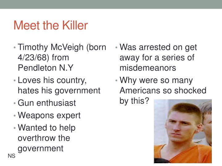 Meet the Killer