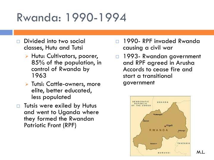Rwanda: 1990-1994