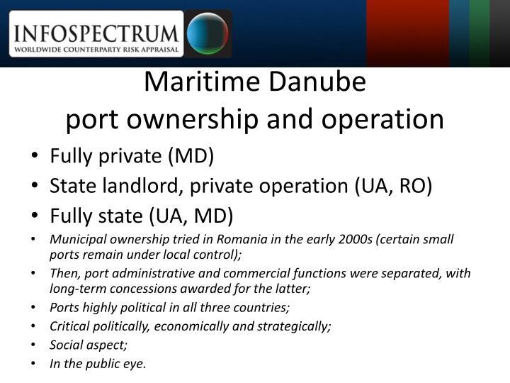 Maritime Danube