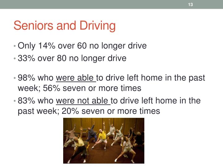 Seniors and Driving