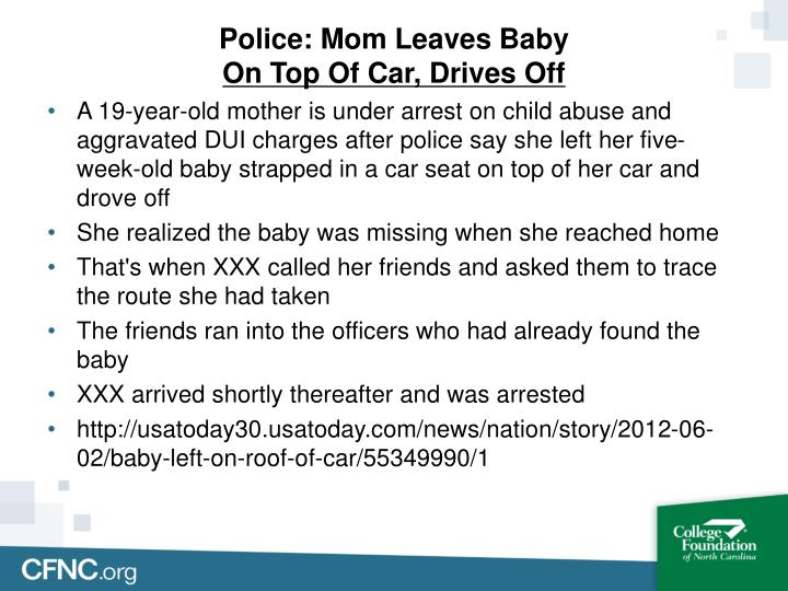 Police: Mom Leaves Baby