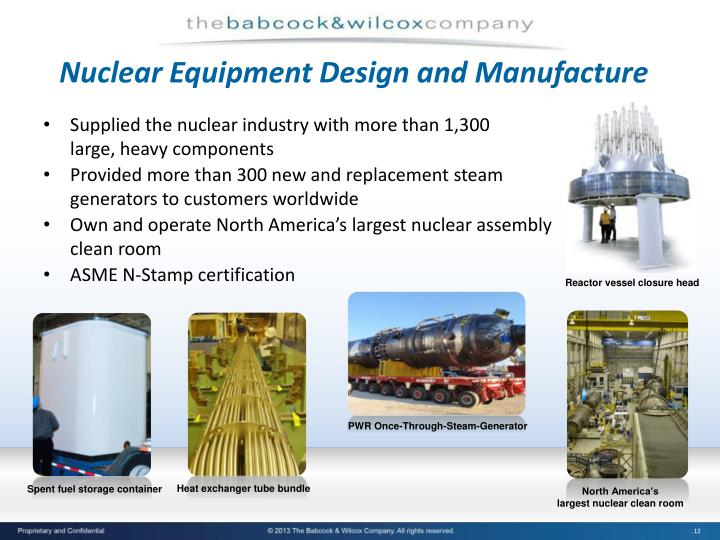 Nuclear Equipment Design