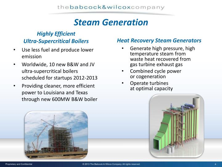 Steam Generation