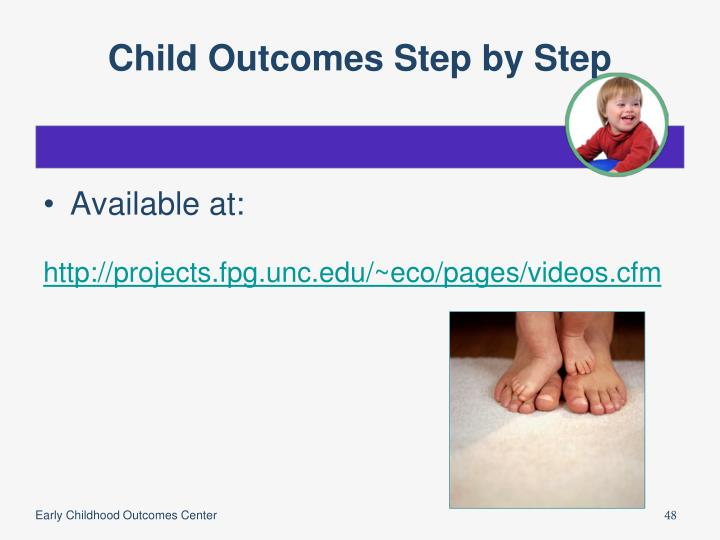 Child Outcomes Step by Step