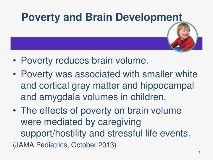 Poverty and Brain Development