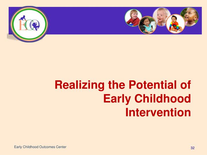 Early Childhood Outcomes Center