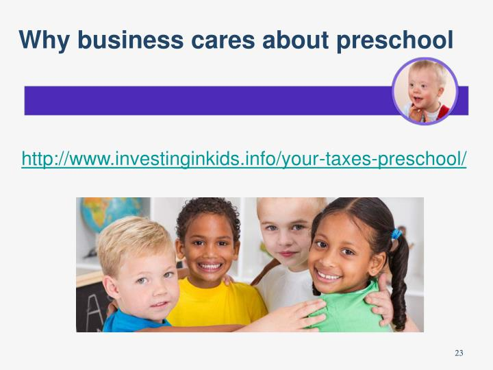Why business cares about preschool