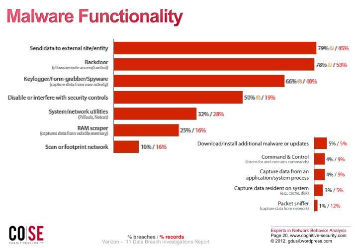 Malware Functionality