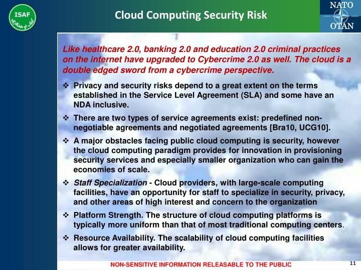 Cloud Computing Security Risk