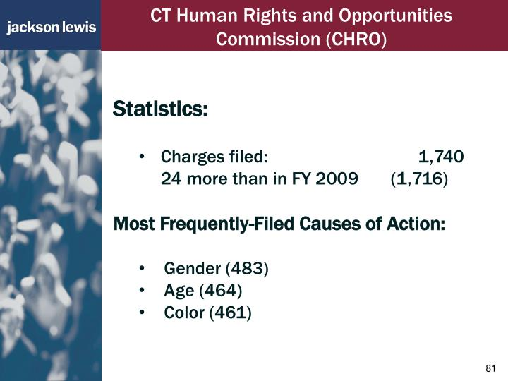 CT Human Rights and Opportunities Commission (CHRO)