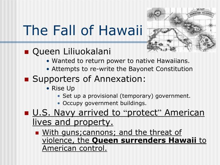 The Fall of Hawaii