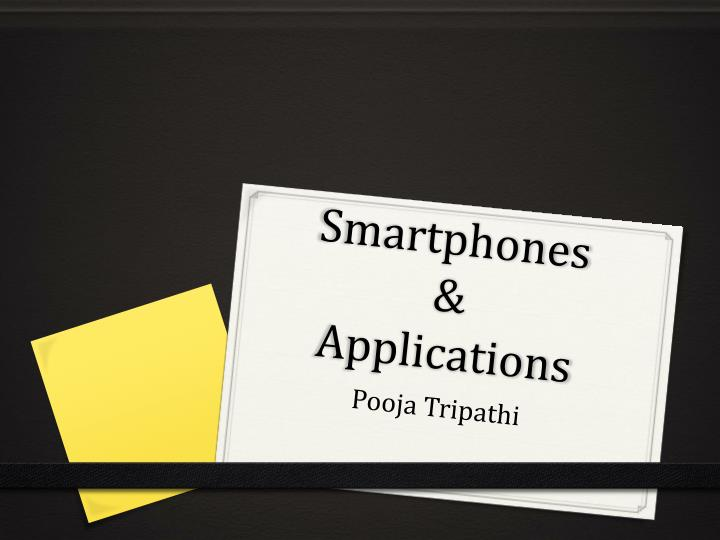 Smartphones applications