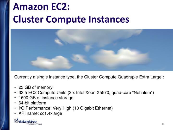 Amazon EC2: