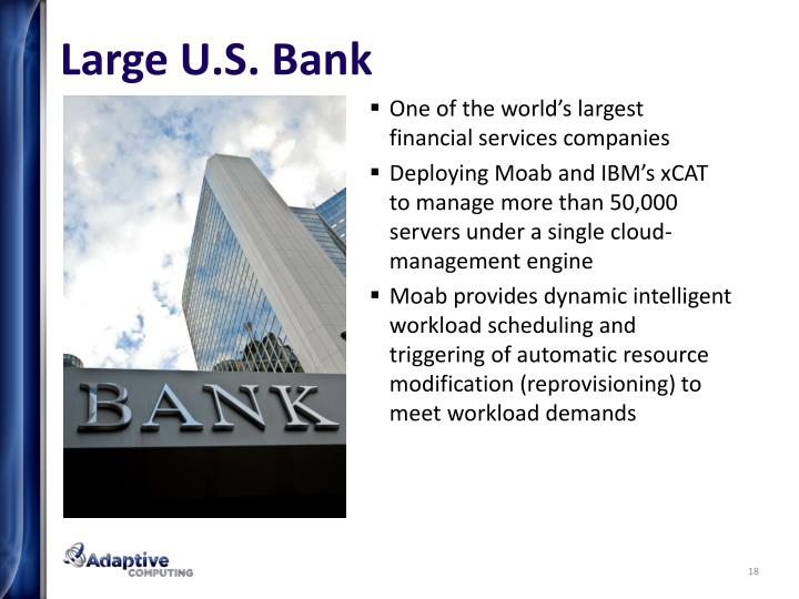 Large U.S. Bank