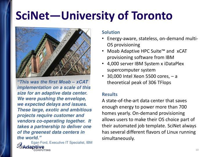 SciNet—University of Toronto