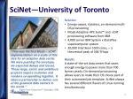 scinet university of toronto1