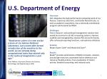 u s department of energy