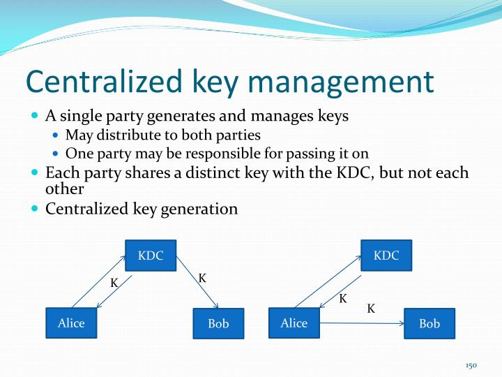 Centralized key management