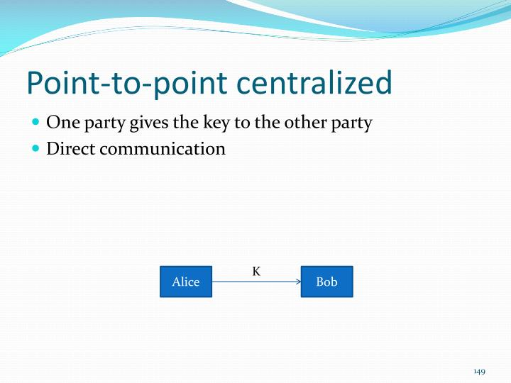 Point-to-point centralized