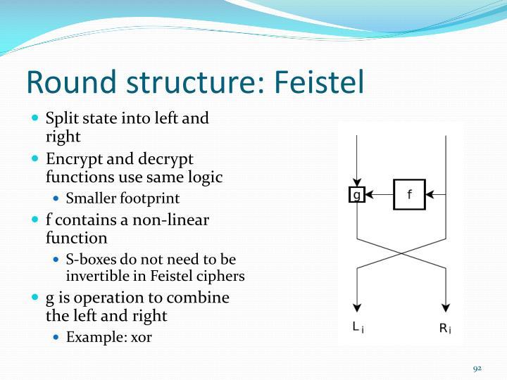 Round structure
