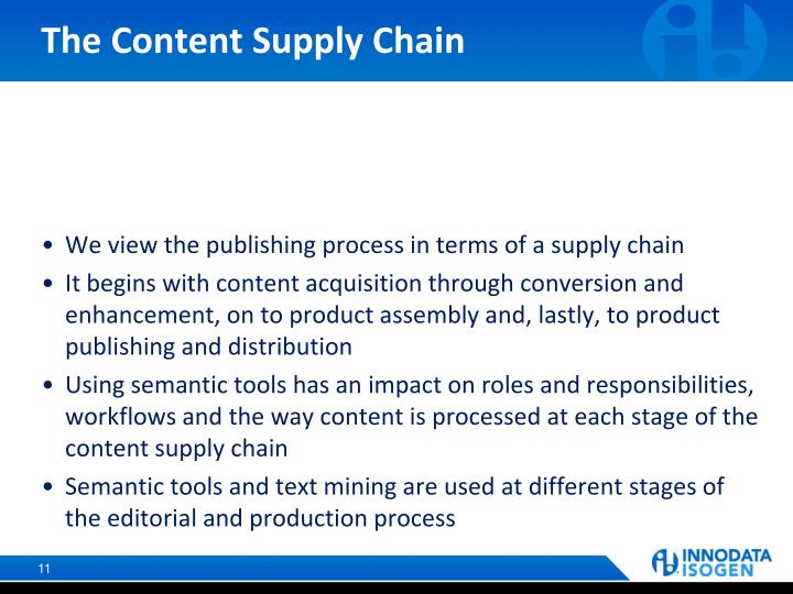 The Content Supply Chain