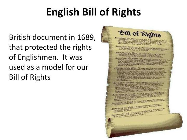 english bill of rights pdf