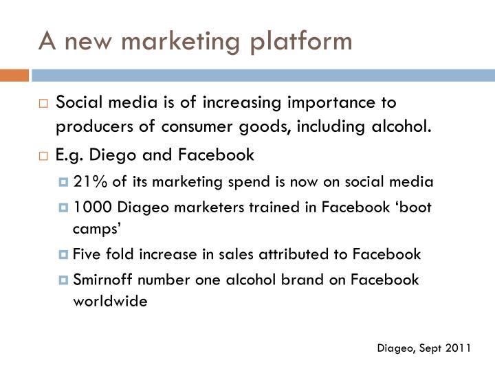 A new marketing platform