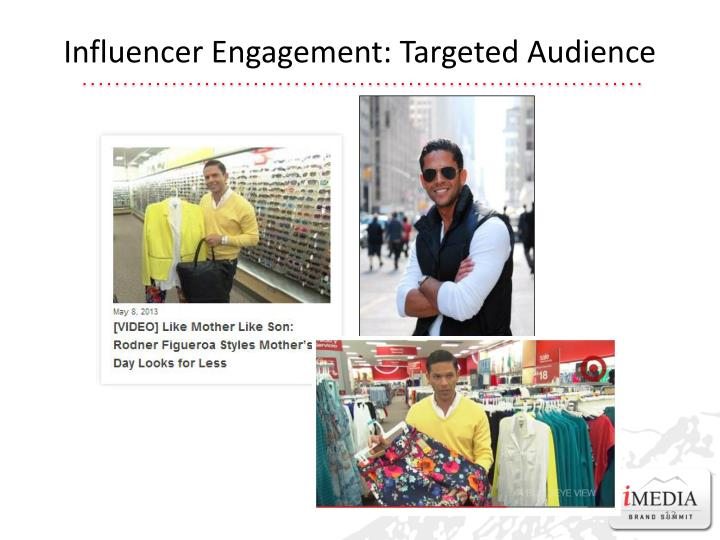 Influencer Engagement: Targeted Audience