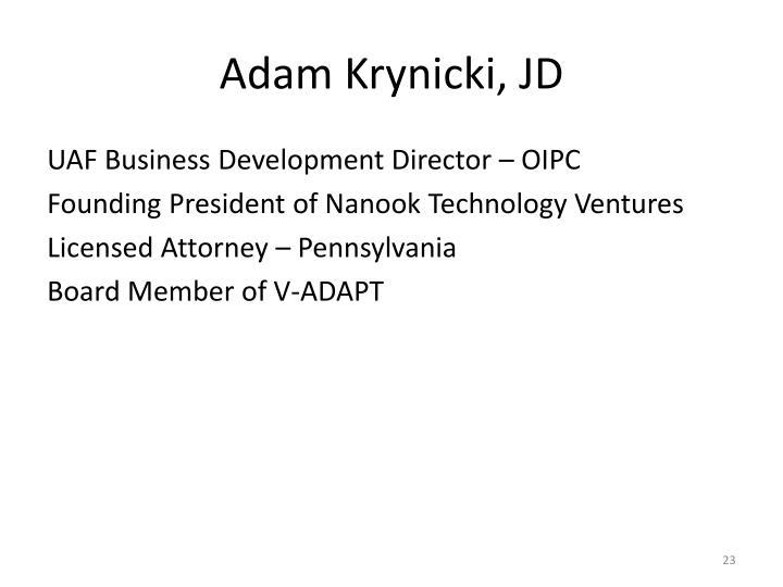 Adam Krynicki, JD