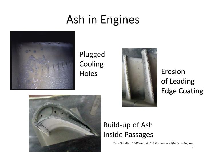 Ash in Engines