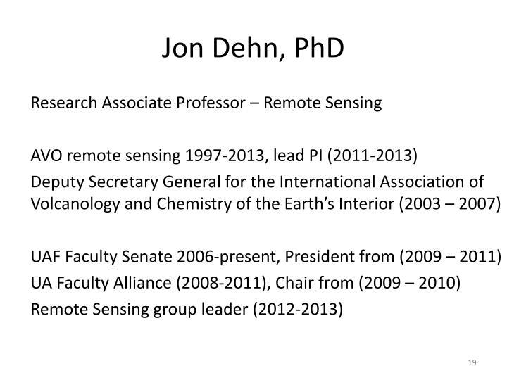 Jon Dehn, PhD