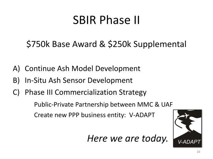 SBIR Phase II