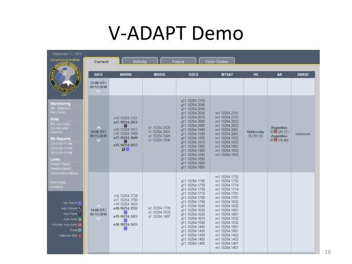 V-ADAPT Demo