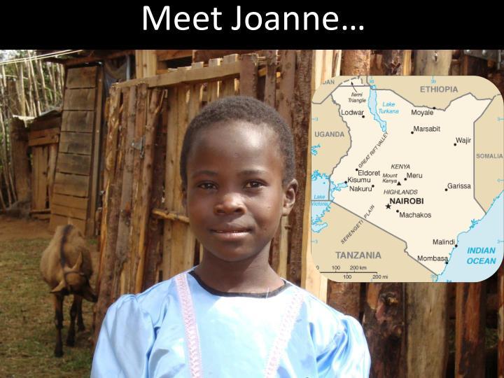 Meet Joanne…