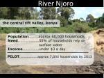 the river njoro