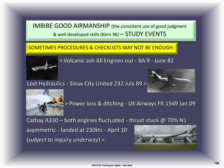IMBIBE GOOD AIRMANSHIP