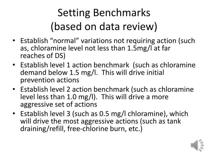 Setting Benchmarks