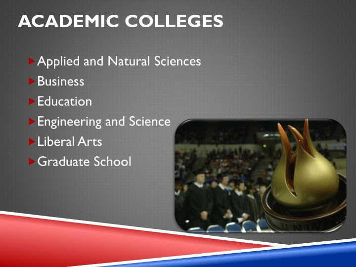 Academic Colleges