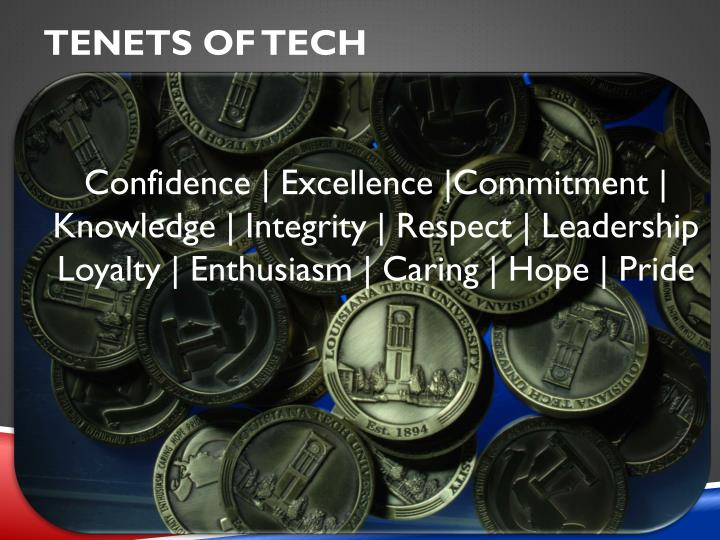 TENETS OF TECH
